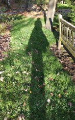 Churchyard selfie